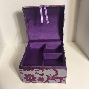 Silky Fabric Craft/Sewing Box!